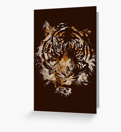 Tigre Greeting Card