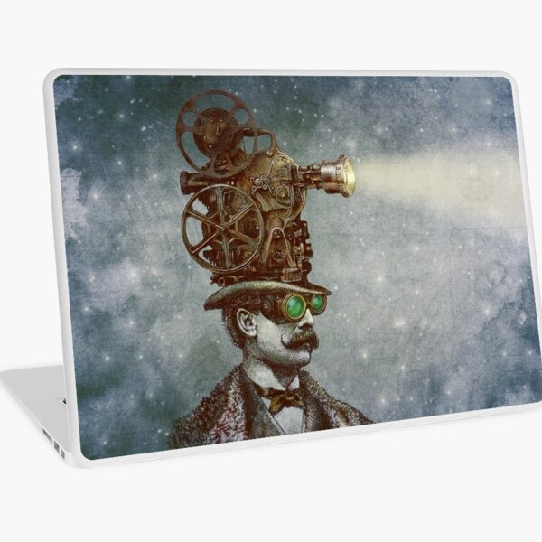 The Projectionist Laptop Skin
