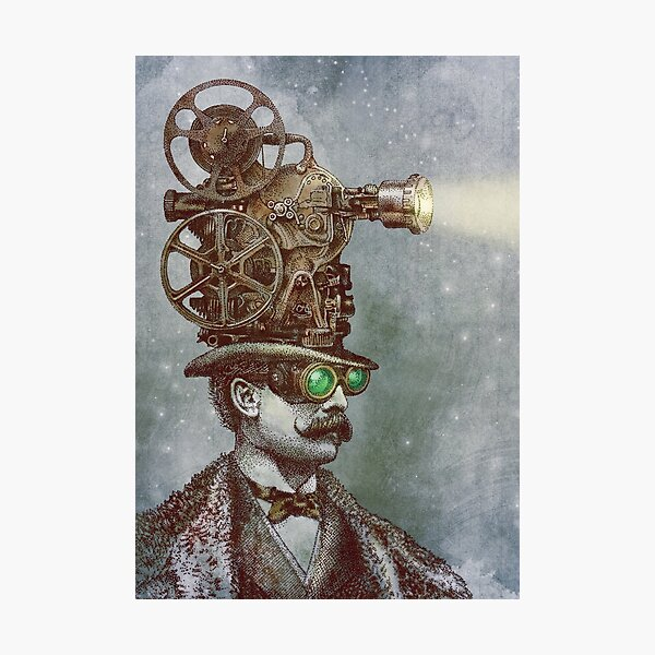 The Projectionist Photographic Print