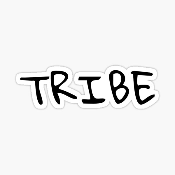 T-shirt TRIBE  Sticker