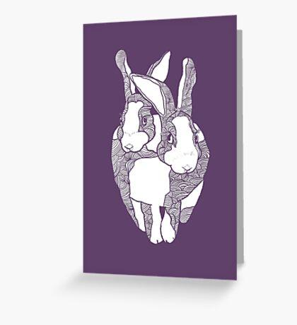 Four Ears Greeting Card