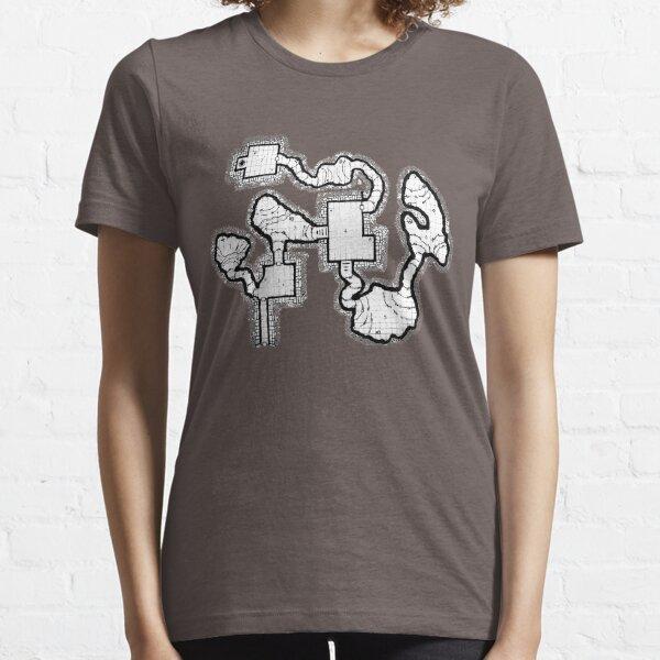 Smuggler's Den Old School Dungeon Map Essential T-Shirt