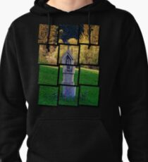 Holy Mary wayside cross | cultural heritage Pullover Hoodie