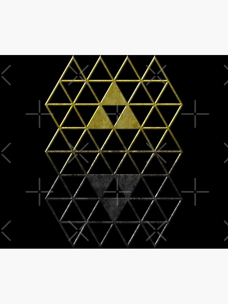 A Link Between Triforces by Colossal