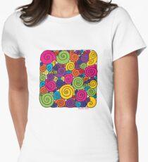 Bubblegum Womens Fitted T-Shirt