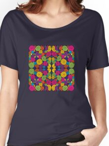 Bubblegum Quartet Women's Relaxed Fit T-Shirt