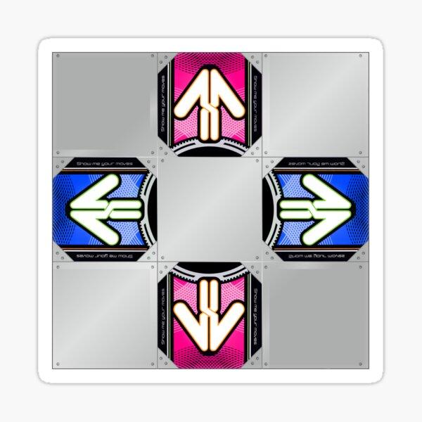 DDR X Pad Sticker