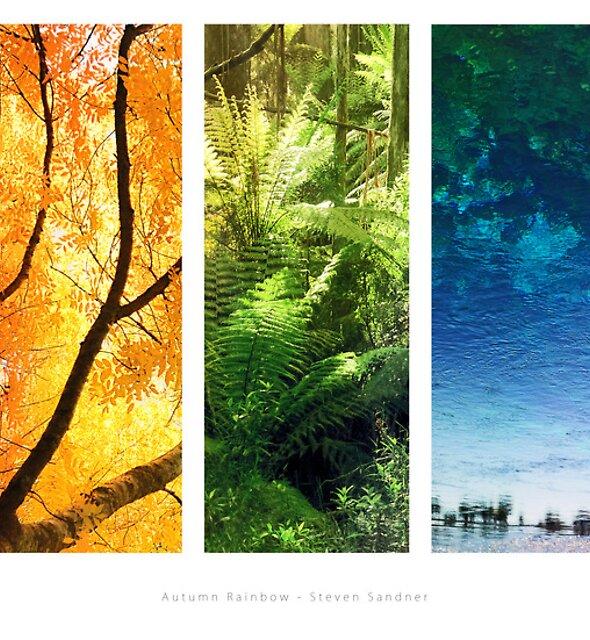 Autumn Rainbow by Steven  Sandner