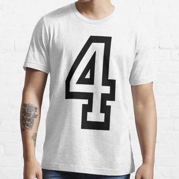 NUMBER 4. TEAM. SPORTS. FOUR, FOURTH, 4th. Competition, Quatro. Essential T-Shirt