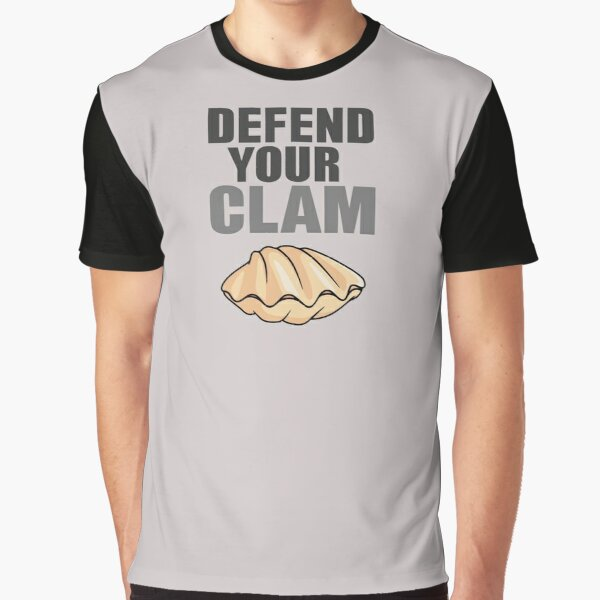 Defend Your Clam Graphic T-Shirt