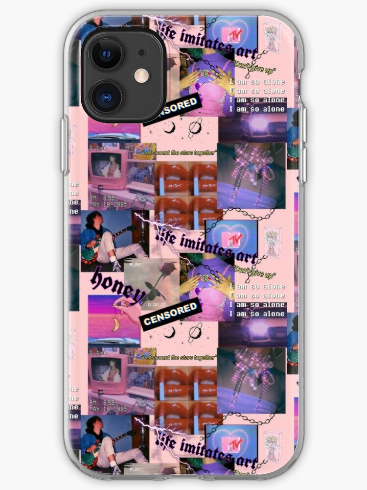 90s Aesthetic Collage | iPhone Case & Cover