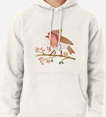 Winter Robin Pullover Hoodie