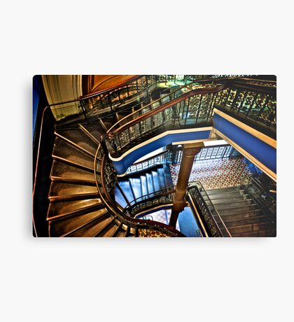Yes, QVB stairs that I'm appreciate...:Got EXPLORE Featured Work, 6 Featured works Metal Print