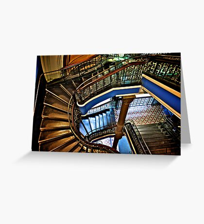 Yes, QVB stairs that I'm appreciate...:Got EXPLORE Featured Work, 6 Featured works Greeting Card