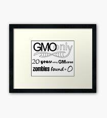 GMO Corn B Framed Print