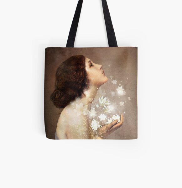 Wish All Over Print Tote Bag
