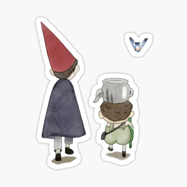 wirt, greg, and beatrice watercolor Sticker