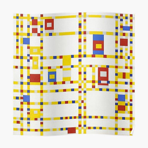 Piet Mondrian-Broadway Boogie Woogie Poster