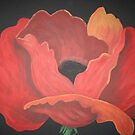 red poppy by creationsbygena