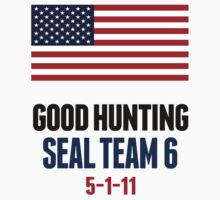 Osama Navy Seal Team 6 Good Hunting Shirt
