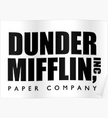 Dunder Mifflin Paper Company  Poster