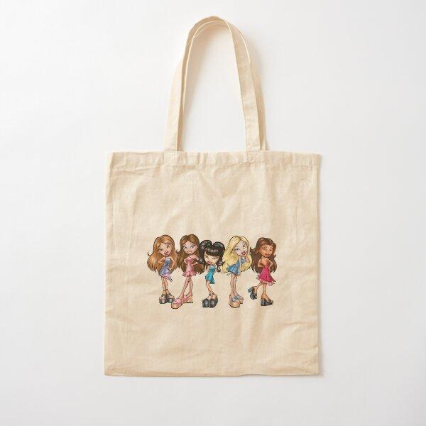 BRATZ retro  cartoon Cotton Tote Bag