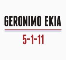 Geronimo Ekia Navy Seals Osama Bin Laden Shirt