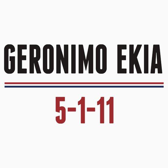 TShirtGifter presents: Geronimo Ekia Navy Seals Osama Bin Laden Shirt