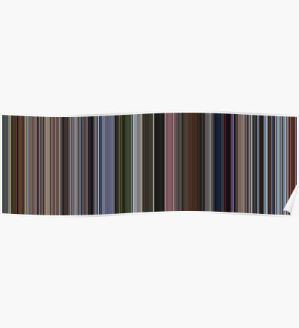 Moviebarcode: Up (2009) [Simplified Colors] Poster