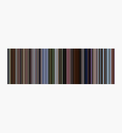 Moviebarcode: Up (2009) [Simplified Colors] Photographic Print