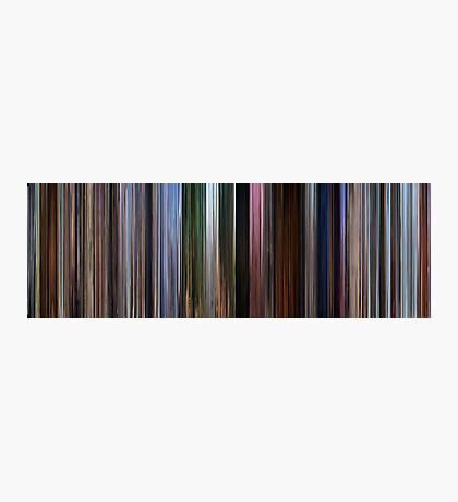 Moviebarcode: Up (2009) Photographic Print