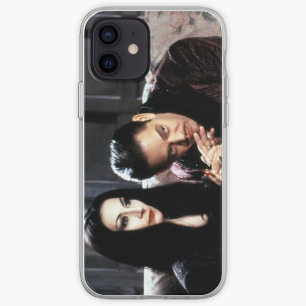 Morticia and Gomez Addams iPhone Soft Case