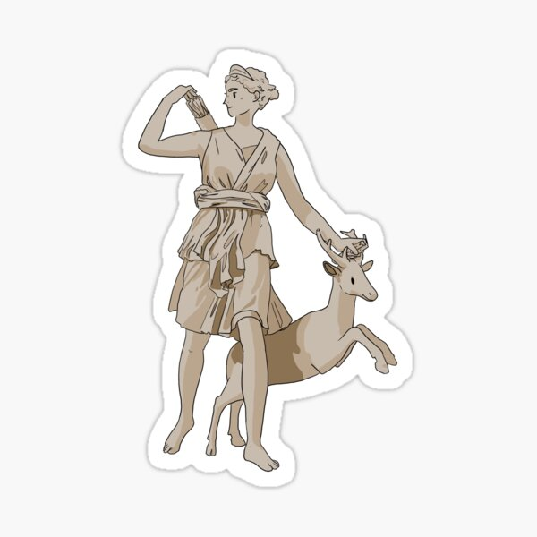 Diana de Versalles Pegatina