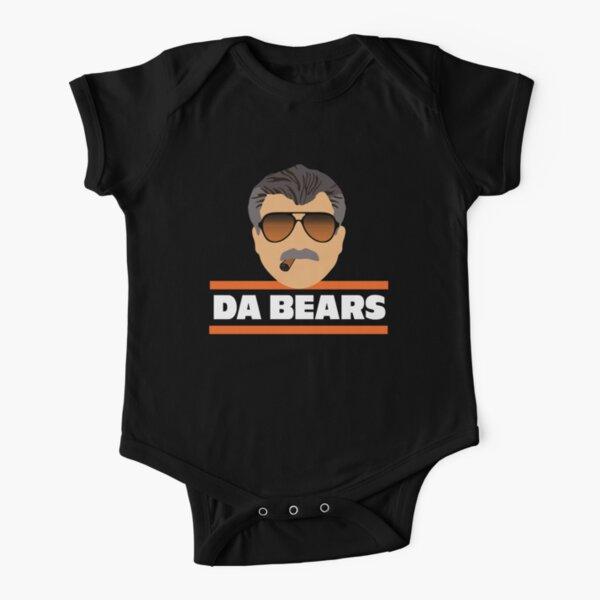 Da Bears Ditka Short Sleeve Baby One-Piece