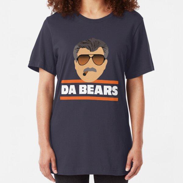 Da Bears Ditka Slim Fit T-Shirt