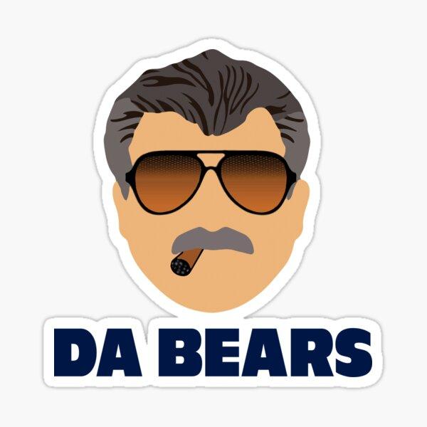 Da Bears Ditka Sticker
