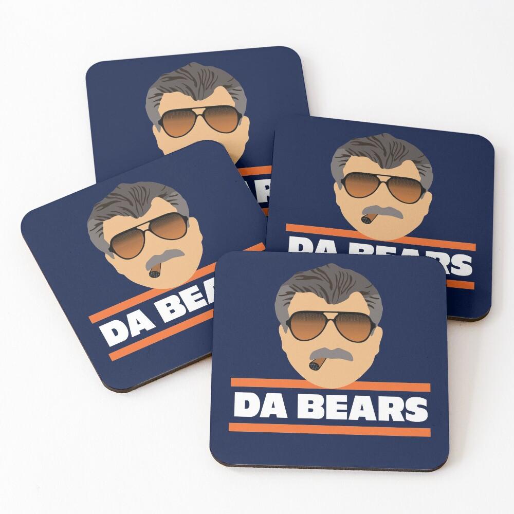 Da Bears Ditka Coasters (Set of 4)