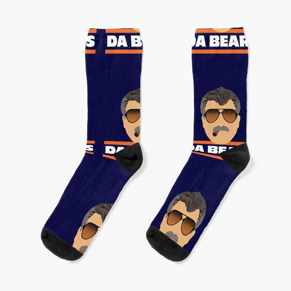 Da Bears Ditka Socks