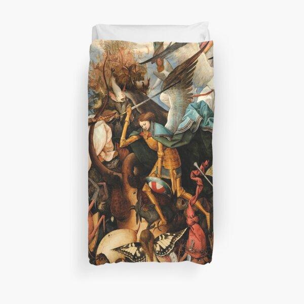 Pieter Bruegel the Elder - The Fall of the Rebel Angels  Duvet Cover