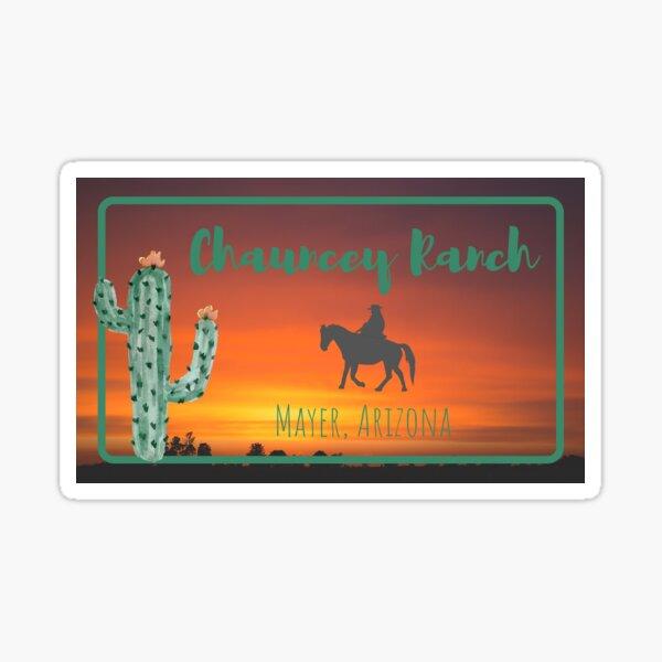 Chauncey Ranch Sticker