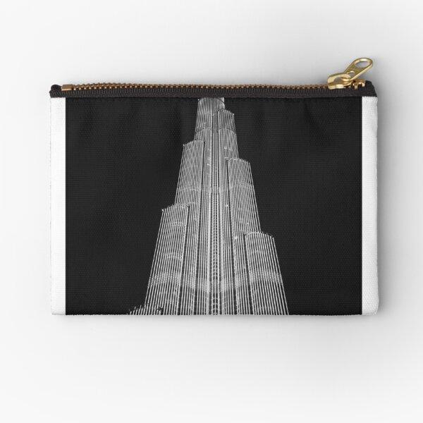 Skyscraper Zipper Pouch