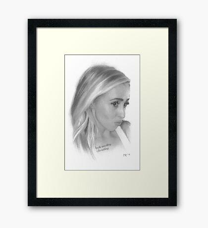 """Jemma"" Framed Print"