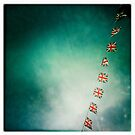 union flags by Tony Day
