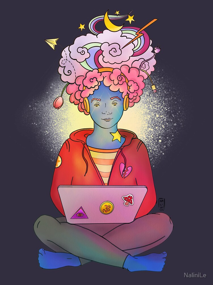 Brainstorming colorful illustration by NaliniLe