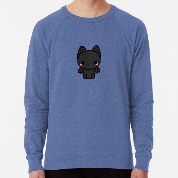 Cute spooky bat Lightweight Sweatshirt