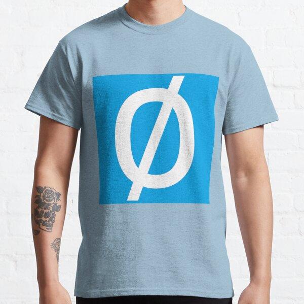 """Empty Set - Unicode Character """"∅"""" (U+2205) Classic T-Shirt"""