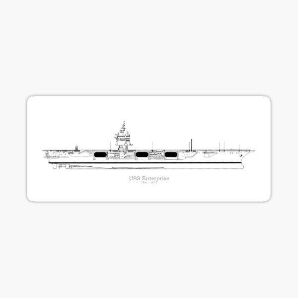 USS Enterprise CVN 65 Street Sign us Navy Ship Veteran Sailor Gift
