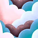 Marshmallow clouds by steveswade