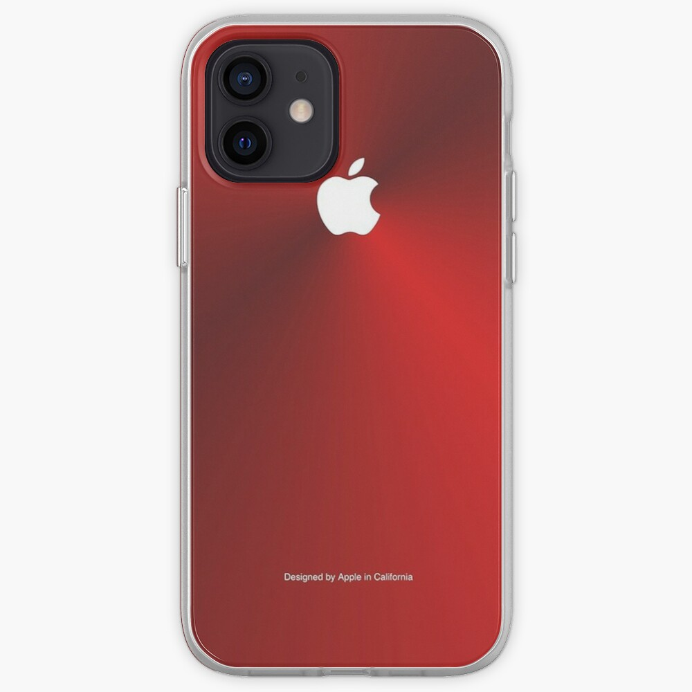 Metallic iPhone Case (Red Edition) iPhone Case & Cover