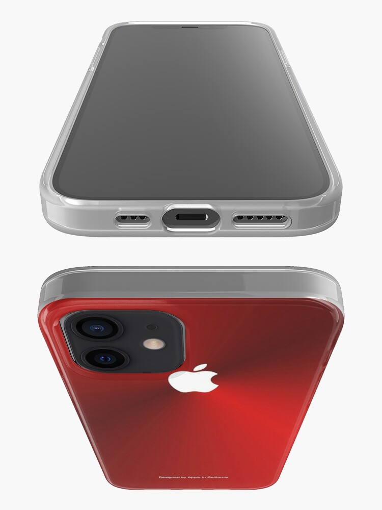 Alternate view of Metallic iPhone Case (Red Edition) iPhone Case & Cover